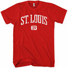 ST LOUIS T-shirt - Area Code 314 Missouri Saint XS-4XL