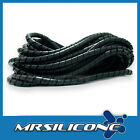 6.5mm SPIRAL WRAP CABLE TIDY 1m LENGTHS **FREE P&P**