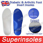 Medical Diabetic Arthritic Foot Arch Support Triple Layers Orthotic Insoles