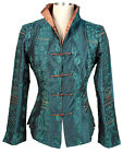 5 colours new style Chinese Silk embroider Women's Jacket/Coat SZ:8-10-12-14-16