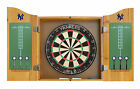 MLB Logo Dart Board Cabinet Set With Darts & Flights - 30 TEAMS AVAILABLE - NEW