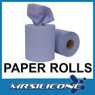 2 PLY BLUE CENTREFEED ROLL PAPER TOWEL INDUSTRIAL