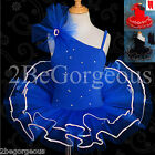 Girl Ballet Tutu Arm Mitts Ballerina Dance Costume Dress Up Fairy Age 2-7yrs 021
