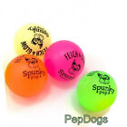 """Spunky Pup Glow in Dark Ball LARGE 3"""" Latex Rubber Your Buddy's Fetch Toy"""