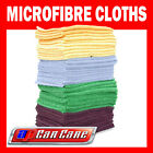 Large Colours Microfibre Cleaning Auto/ Detailing Cloths (260gsm)