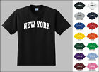 City of New York College Letters T-shirt