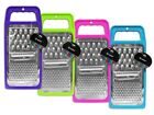 Flat Grater Kitchen Utensil Cookware for grating Cheese & Veg In 4 Colours