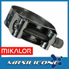 MIKALOR W2 Stainless Supra Heavy Duty Hose Clamp Exhaust Pipe Turbo Norma Clamps