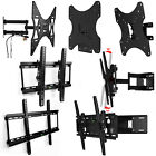PLASMA LCD LED 3D TV Wall Bracket Mount Tilt Slim Swivel 27 32 37 40 42 45 49 52