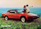 Triumph Stag, TR6, 7,2,4 Spitfire,Herald Classic Car Picture Poster Print A1 A3