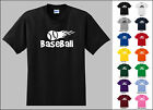 Baseball Sports Flying Flame Ball T-shirt
