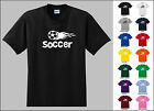 Soccer Sports Flying Flame Ball T-shirt