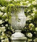 Apian Vessel Planter Urn - Fiberstone Flower Pot for Home & Garden