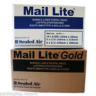 20 x Mixed Sml-Med Sizes ~ Mail Lite Sealed Air Padded Postal Envelopes / Bags
