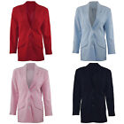 LADIES CLASSIC SUIT JACKET, WOMANS LONG, PADDED SHOULDER BLAZER, TOP UK SZ 10-20