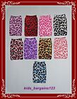 ANIMAL PRINT MP3/4 iPOD MOBILE PHONE POUCHES/SLEEVES BAG SOCK CASE NEW