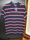 NWT Authentic Polo Ralph Lauren Cotton Multi Color Short Sleeve Golf Shirt