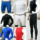Mens Thermal Compression Base Under Layers T-Shirts Tank Tops Shorts Tights Gear
