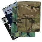 Web-tex A6 Notepad Holder & Notepad Military Cadet Camping Fishing Camo Army