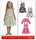 SEWING PATTERN! MAKES PRETTY LINED DRESS~SASH~SHRUG! CHILD 3 TO 8! GIRL CLOTHES!