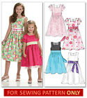 SEWING PATTERN! MAKES LINED FANCY DRESS! 6 STYLES! CHILD 3 TO GIRL 14! CLOTHES