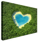 Lovers Lagoon Landscape Flower Canvas Wall Art Perfect Pictures Large