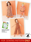 SALE! SEWING PATTERN! MAKE GIRLS ROMPER~JUMPSUIT! SIZES 1/2-8! BOUTIQUE STYLE!