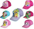 Girls Character Caps Sun Hats Disney Hello Kitty, Dora, Disney Princess, Tangled