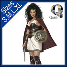 Womens Xena Princess Warrior Spartan Roman Greek Hero Halloween Costume