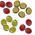 Crown Caps for Homebrew  Excellent quality  Bag of 100, 4 Colours to Choose from