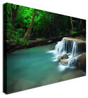 LARGE Smooth Lake Canvas Wall Art Pictures For Home Interiors