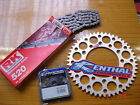RK Chain And Silver Renthal Sprocket Kit KX KXF 125/250/450/500 85-13 Enduro