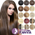 "16"" 20"" 24"" Full Head Clip In 100% Real Human Hair Extensions 9pcs 100g on sale"