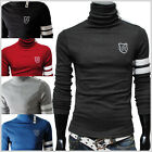 (TRP) THELEES Mens casual button turtle neck slim tshirts 5 COLOR
