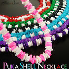 "18"" Solid & Mixed Colors Puka Shell Necklace Choker with Screw Clasp"