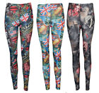 New Women Union Jack/American Flag Legging Ladies Lips Print Lady Gaga Jegging
