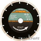 Sthor diamond blade 115-230mm segment type