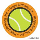 Personalised Birthday Stickers Label Party Bag Seals Sports. Add name. 3 sizes