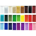 6mm DOUBLE SIDED SATIN RIBBON - 1m Metre - High Quality Colour Faced