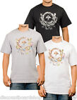 LRG Lifted Research Group DISCORDIANISM TEE White Black Gray Men's T-Shirt