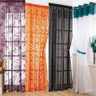 CHOICE OF PREMIUM VOILE PANEL NET CURTAIN - MANY STUNNING STYLES & COLOURS