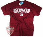 Harvard T-Shirt College University Crimson Crew NCAA Officially Licensed