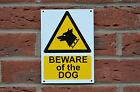 Beware Of The Dog A5 Plastic Or Metal Sign Or Self-Adhesive Sticker Security