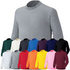 ililily New Mens Round Neck Long Sleeve Pullovers Cotton Sweatshirts T shirt 028