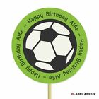 ❤ 20 PERSONALISED Cup Cake Toppers | Football Design | Cupcake Decoration ❤