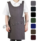 Girls School Pinafore Dress Bib Black Age 2 3 4 5 6 7 8 9 10 11 12 13 14 15 16