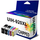 5 920XL OFFICEJET INKJET INK CARTRIDGES FOR OFFICEJET PRINTER WITH CHIP NON-OEM