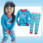 "NWT Vaenait Toddler Girl Kid Boy Long Sleepwear Pyjama Set "" Mini Elephant """