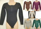 NEW FITTED LADIES BODY TOP - SIZE 8/10 SIZE 10/12 - LONG SLEEVED