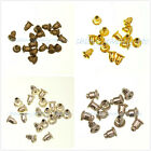 100Pcs Tone Bullet Plug Back Earring Stoppers 6x5mm 4 Color